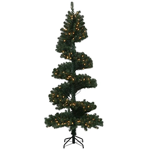 Vickerman 7 ft. Spiral Pine Dura-Lit Christmas Tree