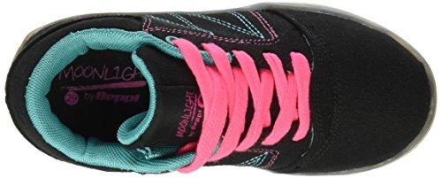 BEPPI Casual 2150971, Zapatillas de Deporte para Niños Negro (Black)