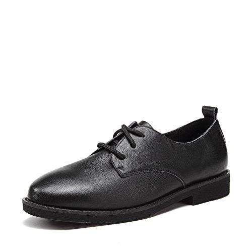 Viento de zapatos Inglaterra/Zapatos de tacón plano/Zapatos A