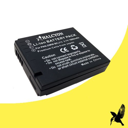 Leica Replacement Battery - Halcyon 1800 mAH Lithium Ion Replacement Battery for Leica D-LUX 5, D-LUX 6 Digital Cameras