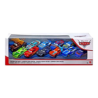 ACTION 1:55 Scale Diecast Cars Piston Cup Race 11-Pack Chase Racelott Barry DePedal Floyd Mulvihill Lightning Bolt Mater: Toys & Games