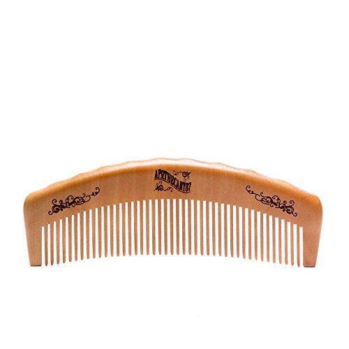 Apothecary 87, the Man Club, American Pecan Wood Barber Comb - Anti-Static