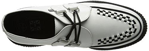 Adulto Sole Bianco Creeper Mondo Unisex Sneaker Round TUK w5FYWxqF