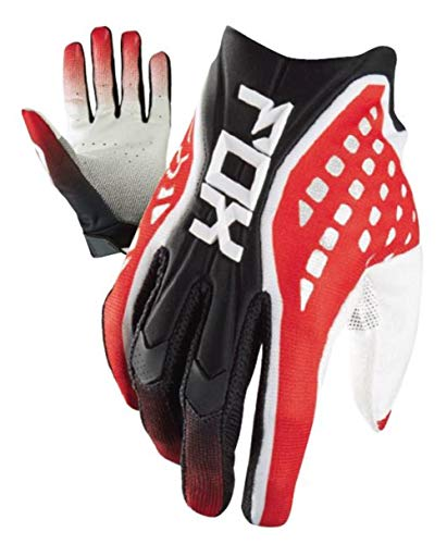 Fox Racing Flexair Race Men's Off-Road Motorcycle Gloves - Red / 2X-Large