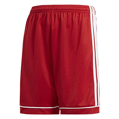 (adidas Youth Squadra 17 Shorts, Power Red/White, Small)