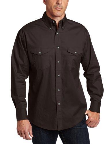 - Wrangler Men's Painted Desert Basic Shirt, Black, Large
