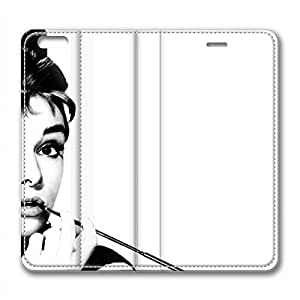 iPhone 6 Plus Soft High Quality PU Leather Case Easy To Clean Colored And Many Design Case Suit iPhone6 5.5 Inch Latest style Case Easy To Control Audrey Hepburn 180