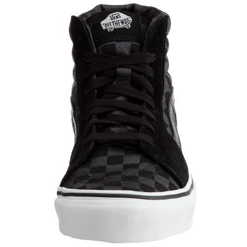Vans U Sk8-Hi, Zapatillas Altas Unisex Adulto Negro (Black/White)