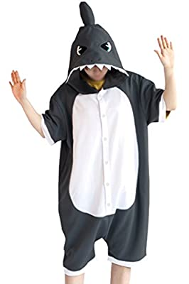WOTOGOLD Animal Cosplay Costume New Shark Unisex Adult Pajamas