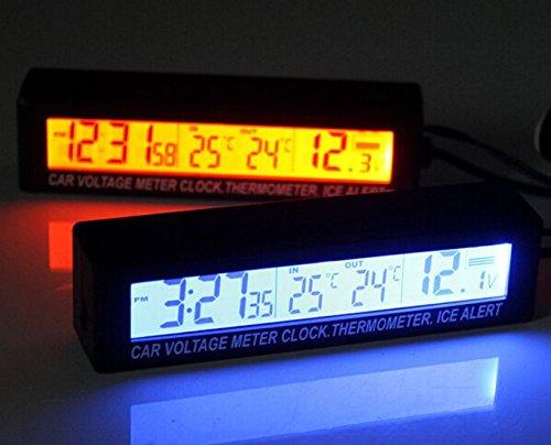 temperature clock for cars - 7