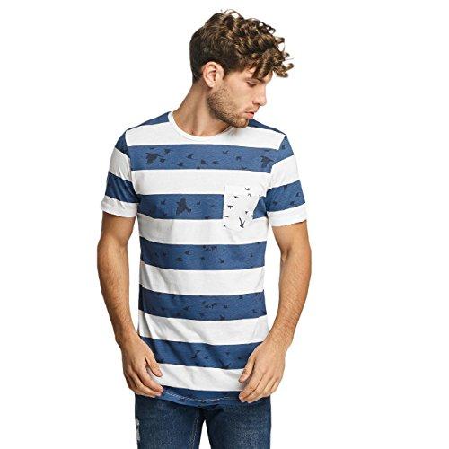 Jack & Jones Herren Oberteile / T-Shirt jjorMarvin blau L