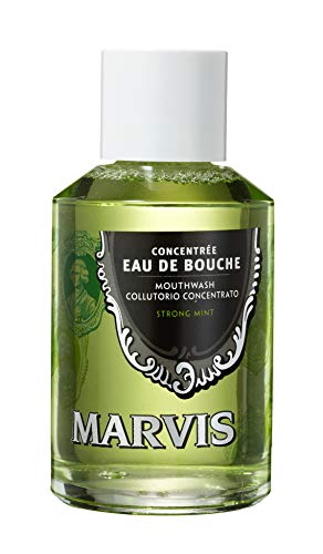 Marvis Strong Mint Mouthwash Concentrate, 4.1 fl oz
