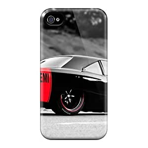 Iphone Case - Tpu Case Protective For Iphone 4/4s- Plymouth Road Runner Hemi