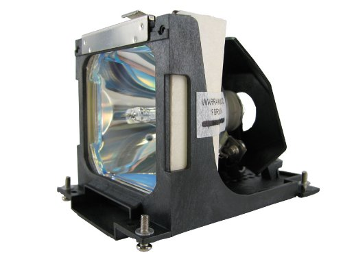 Replacement Lamp for Eiki LC-XNB4M 200-Watt UHP (with Compatible Housing)
