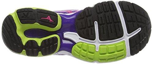Mizuno Wave Rider Wos 18 Damen - Violet (deep Lavender/fuchsia Purple/green Glow)