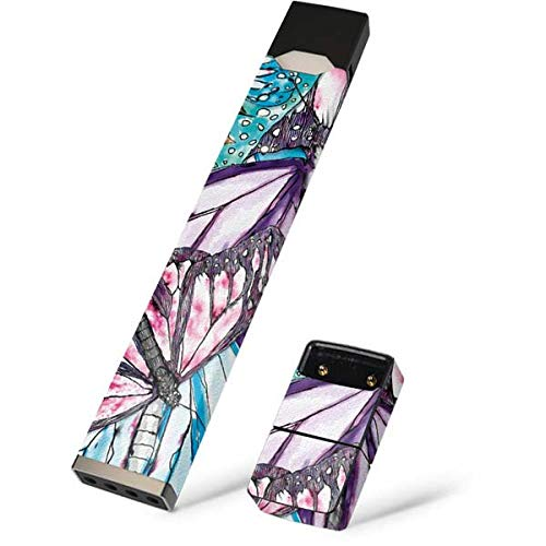 - Skinit California Monarch Collage Skin for Juul Premium Wraps for Juul Device - Original Animal Prints Design - Ultra Thin 3M Vinyl, Residue Free, Easy Application