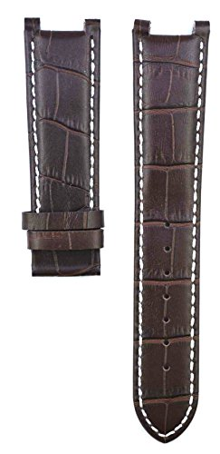 212ZTD 22mm Brown Leather Guess Collection fit for X72001G1S Replacement Watch Band Strap Free Spring BAR Tool 250GSC