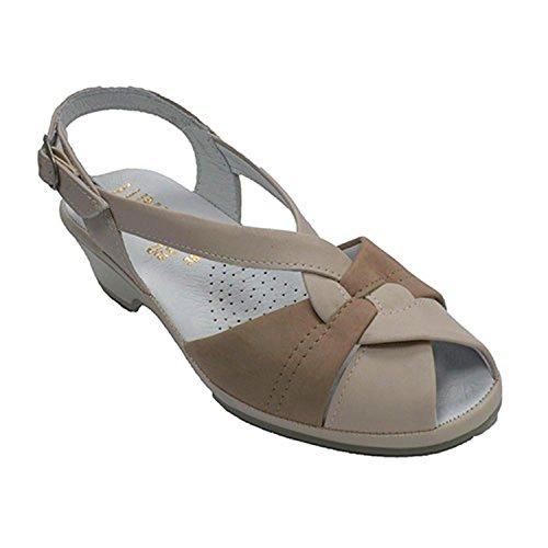 Lumel Beig Spain Confortevole Sandalo In Made Molto Donna Bq4YYO