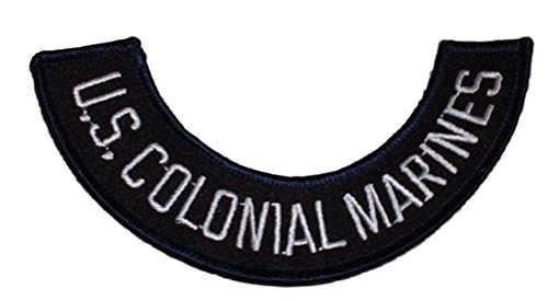 Aliens Movie U.S.S. Sulaco Rocker US Colonial Marines Cosplay Patch (Wii Aliens U Marines Colonial)
