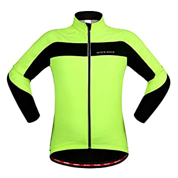171429835 KARMARY Winter Fleece Cycling Jacket Reflective Thermal Warm Cycling Jersey  Long Sleeve Mountain biking Clothes with
