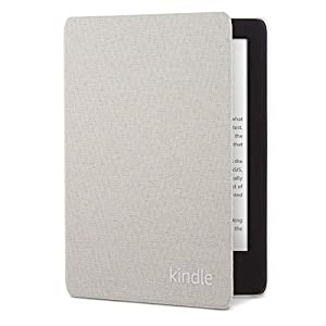 Kindle Fabric Cover - Sandstone White (10th Gen - 2019 release only—will not fit Kindle Paperwhite or Kindle Oasis).