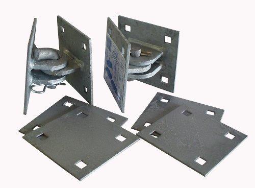 Dock Edge + Inc. Floating Dock Hardware Dock2Go Connector Kit B013XRLN4S