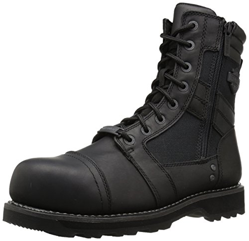 Harley-Davidson Men's Boxbury CT Industrial Boot, Black, 9.5 Medium US