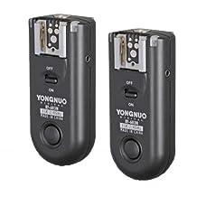 Yongnuo RF-603 N3 2.4GHz Wireless Flash Trigger/Wireless Shutter Release Transceiver Kit for Nikon D90/D3100/D5000/D7000