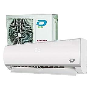 CLIMATIZZATORE CONDIZIONATORE 12000 BTU A++/A+ INVERTER GAS R32 Wi-Fi - DILOC 2 spesavip