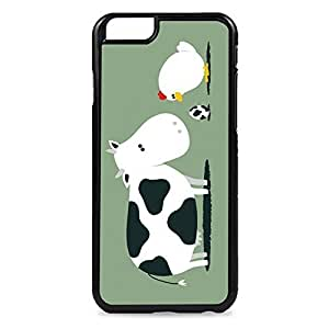 Case Fun Case Fun Chicken & Cow Egg Snap-on Hard Back Case Cover for Apple iPhone 6 4.7 inch