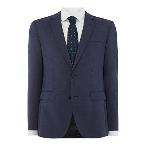 [フューゴ] メンズ ジャケット&ブルゾン Jeffrey Regular Fit Stripe Two-piece Sui [並行輸入品] B07F3418FR 42 Regular