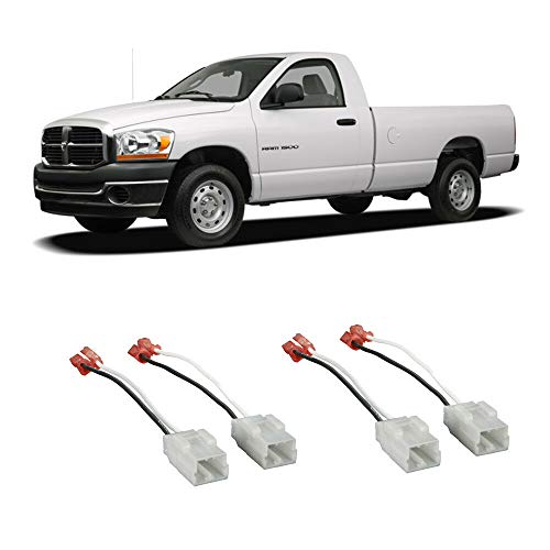 FidgetGear Fits Dodge Ram 1500 2002-2008 Factory Speaker Replacement Connector Harness Kit Show One - 2002 Guitar Electric