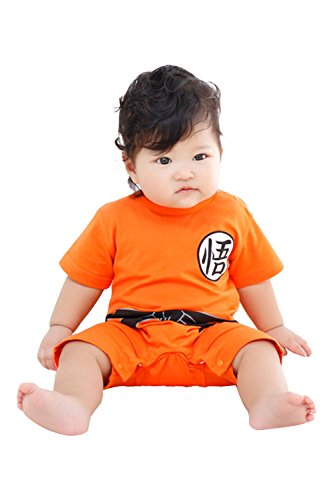 Goku Costume Ideas (UU-Style Baby Clothes Child Cotton Jumpsuit Son Goku Cosplay Costume)