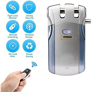 Smart Keyless Lock, Electronic Invisible Door Locks, Unlock the