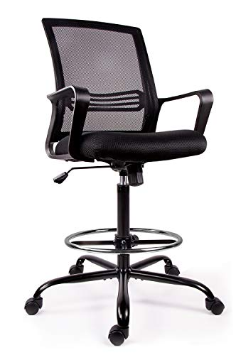 Drafting Chair Tall Office Chair for Standing Desk Drafting Mesh
