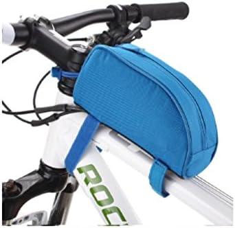Manillar Bolsa sillín sillín cestas bicicletas/piezas/accesorios para bicicletas , azure blue: Amazon.es: Deportes y aire libre