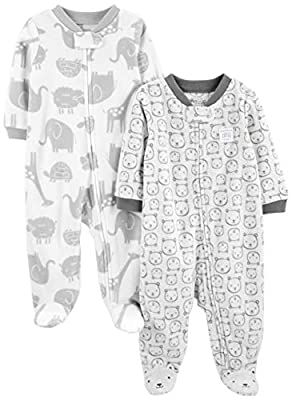 Simple Joys by Carter's Baby 2-Pack Fleece Footed Sleep and Play by Simple Joys by Carter's that we recomend personally.