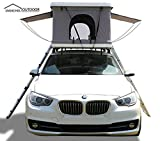 DANCHEL OUTDOOR Hard Shell Rooftop Tent for Cars