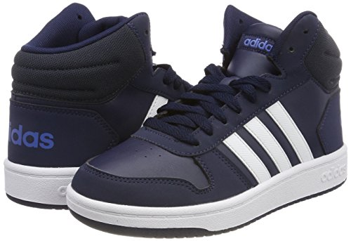 Enfants 000 Bleues Chaussures Pour 2 0 Mid Azretr Unisexes maruni Hoops Ftwbla Hautes Adidas Vs Zv8q6