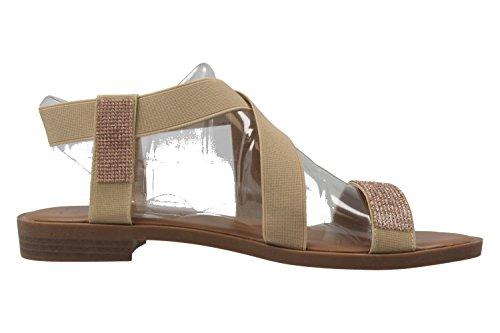 Fitters Footwear - Sandalias de vestir de Material Sintético para mujer Beige beige