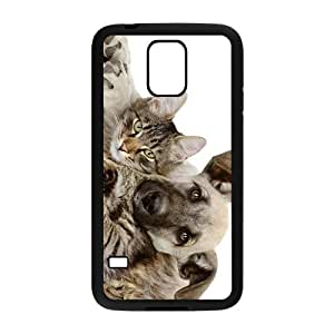 Dog And Cat Hight Quality Plastic Case for Samsung Galaxy S5