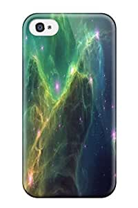 Durable Defender Case For Iphone 4/4s Tpu Cover(star Colors Nature Stars)