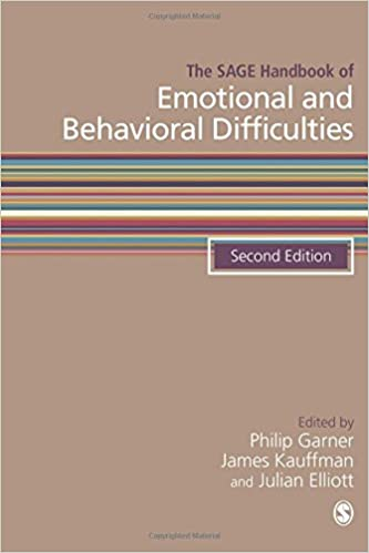 The SAGE Handbook Of Emotional And Behavioral Difficulties Sage Handbooks Second Edition