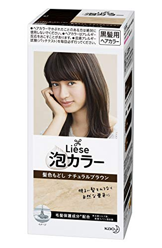 Kao   Liese Prettia AWA Hair Color KAMI IRO MODOSHI   Natural Brown