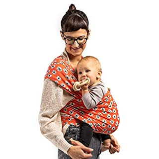 Boba Baby Wrap Carrier - Original Child and Newborn Sling (Serenity Etoile)