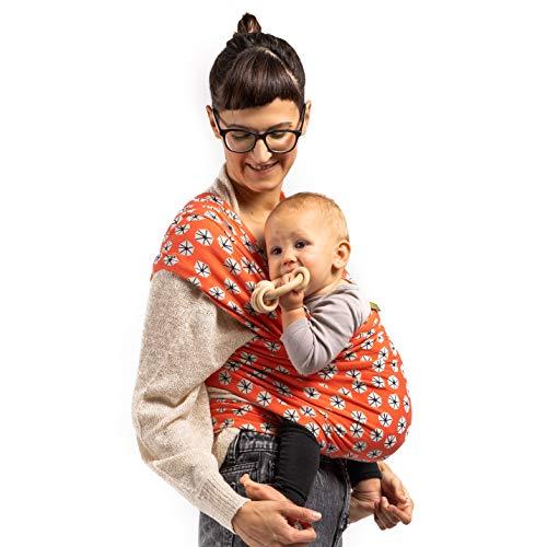 Boba Wrap Baby Carrier Grey Original Child Newborn