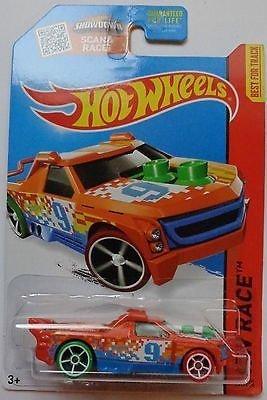 Hot Wheels, 2015 HW Race, Fig Rig [Orange] #152/250