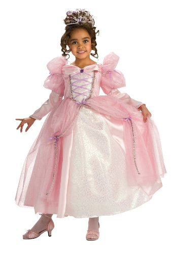 [Rubie's Deluxe Pink Stardust Princess Costume - Small (4-6)] (Glinda Costume For Kids)