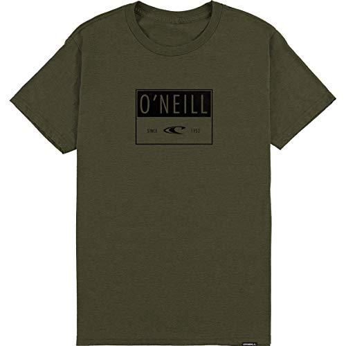 - O'Neill Men's Advisory Shirts,X-Large,Olive Heather