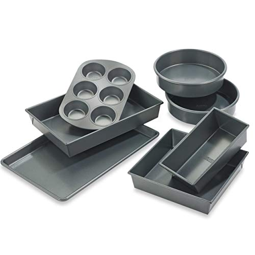 Chicago Metallic Professional 7-piece Non-Stick Bakeware Set